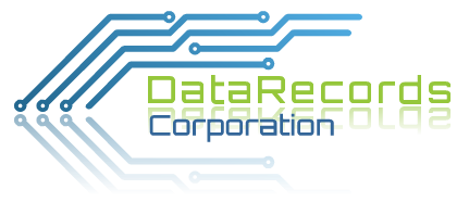 Data Records Corporation Logo